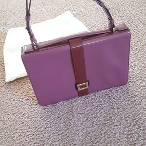AUTHENTIC Roger Viver Patent Leather Handbag